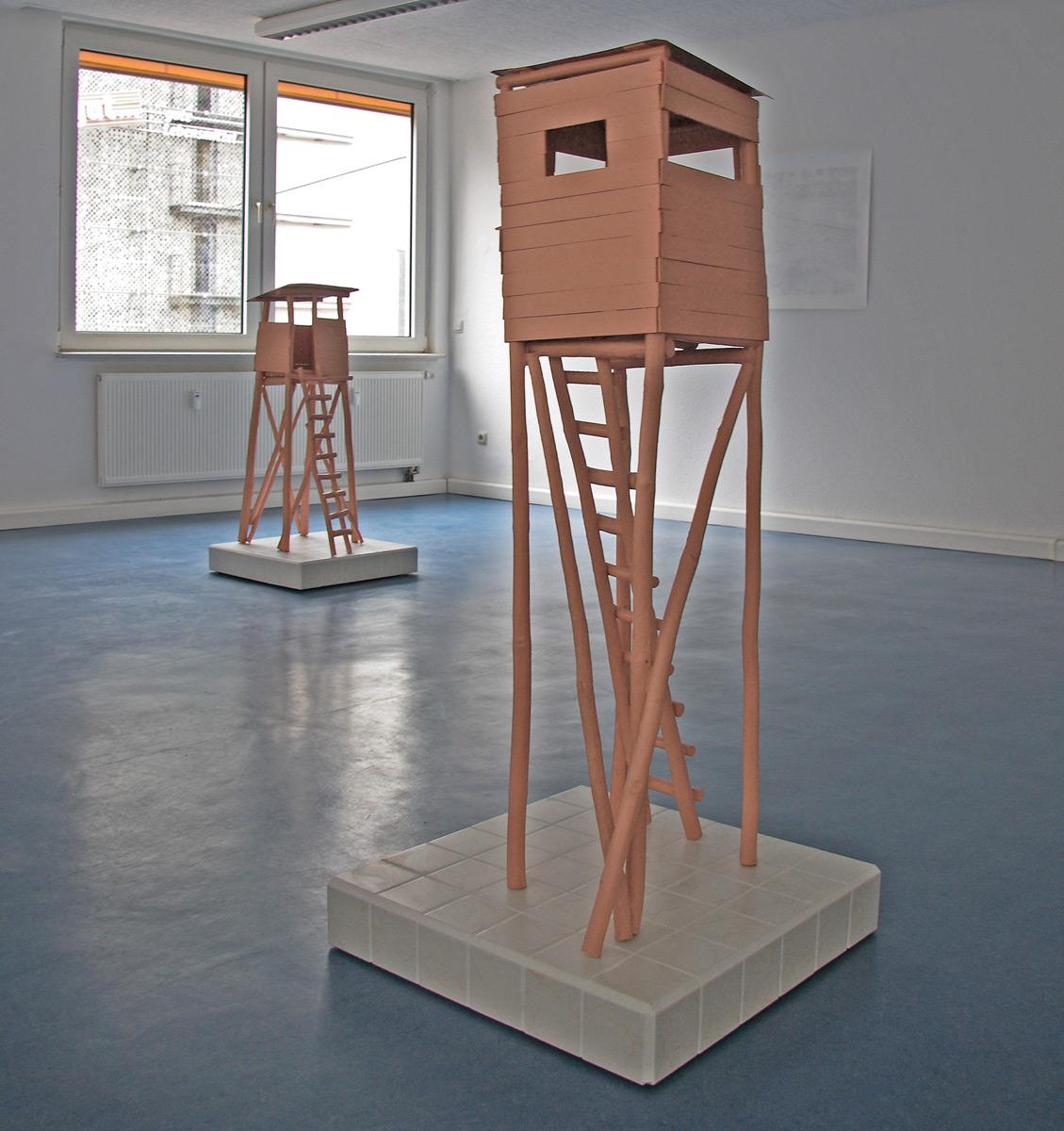 Michael Göbel - o. T. (Hochstände), 2007