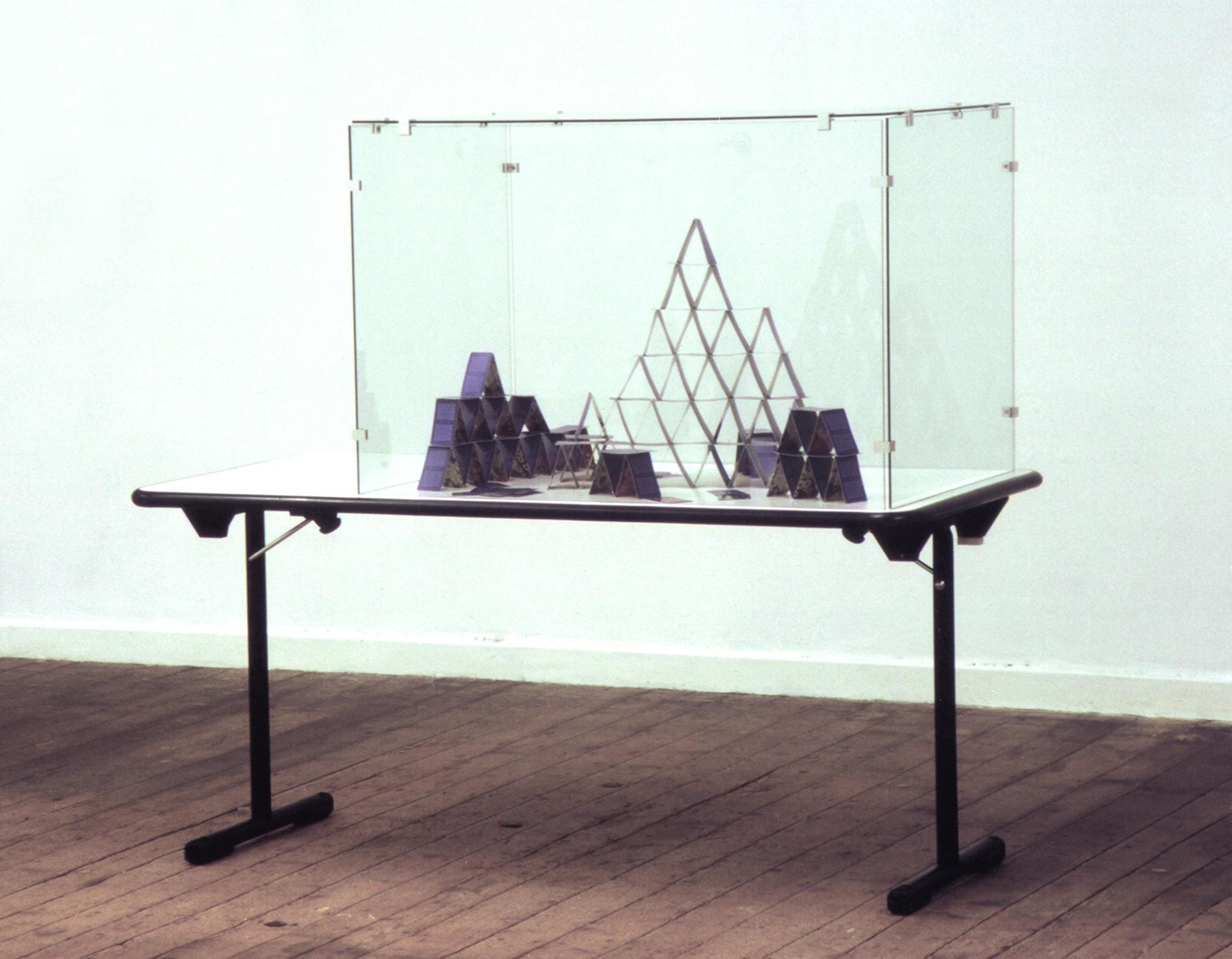 Michael Göbel - Geduldsspiele: Kartenhaus, 2001
