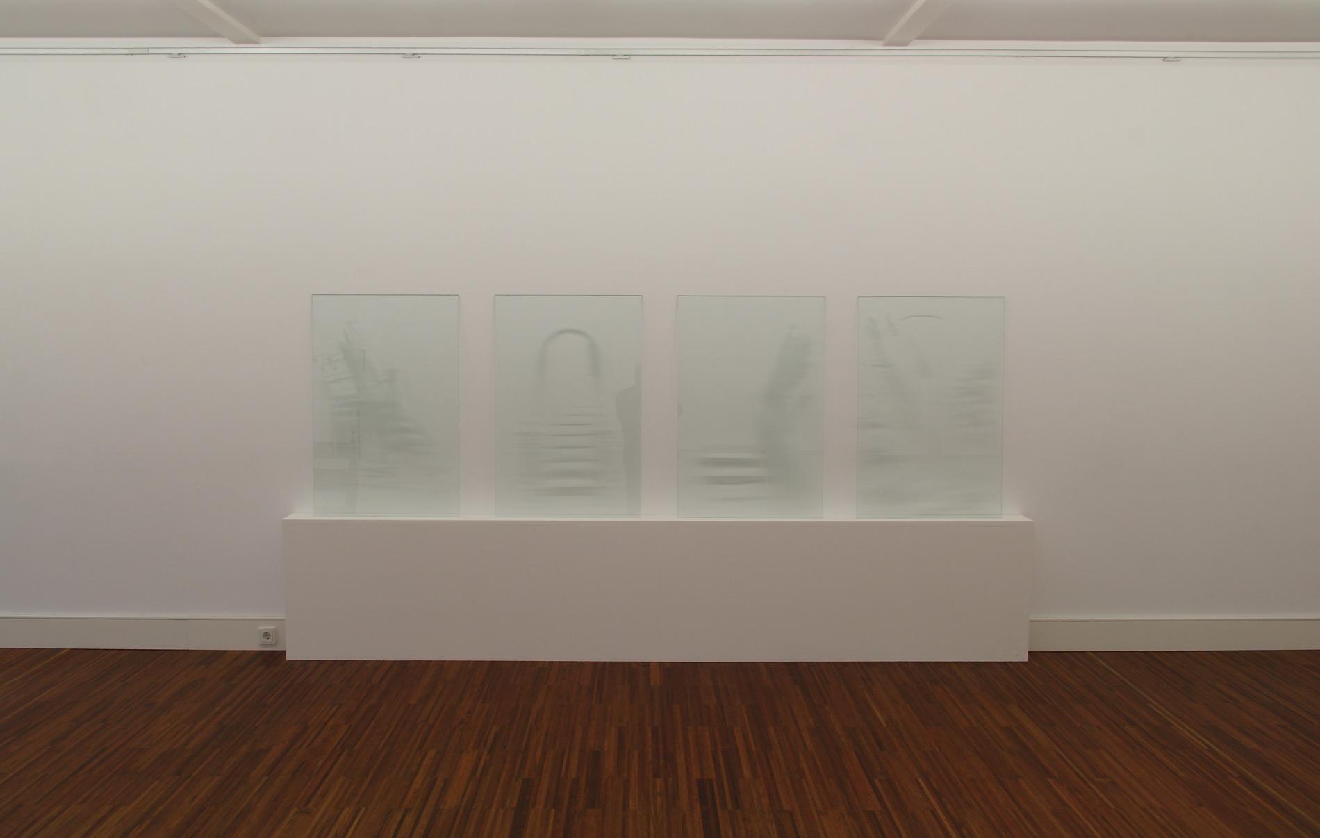 """Michael Göbel - o. T. (Serie """"Aufgänge), 2010"""