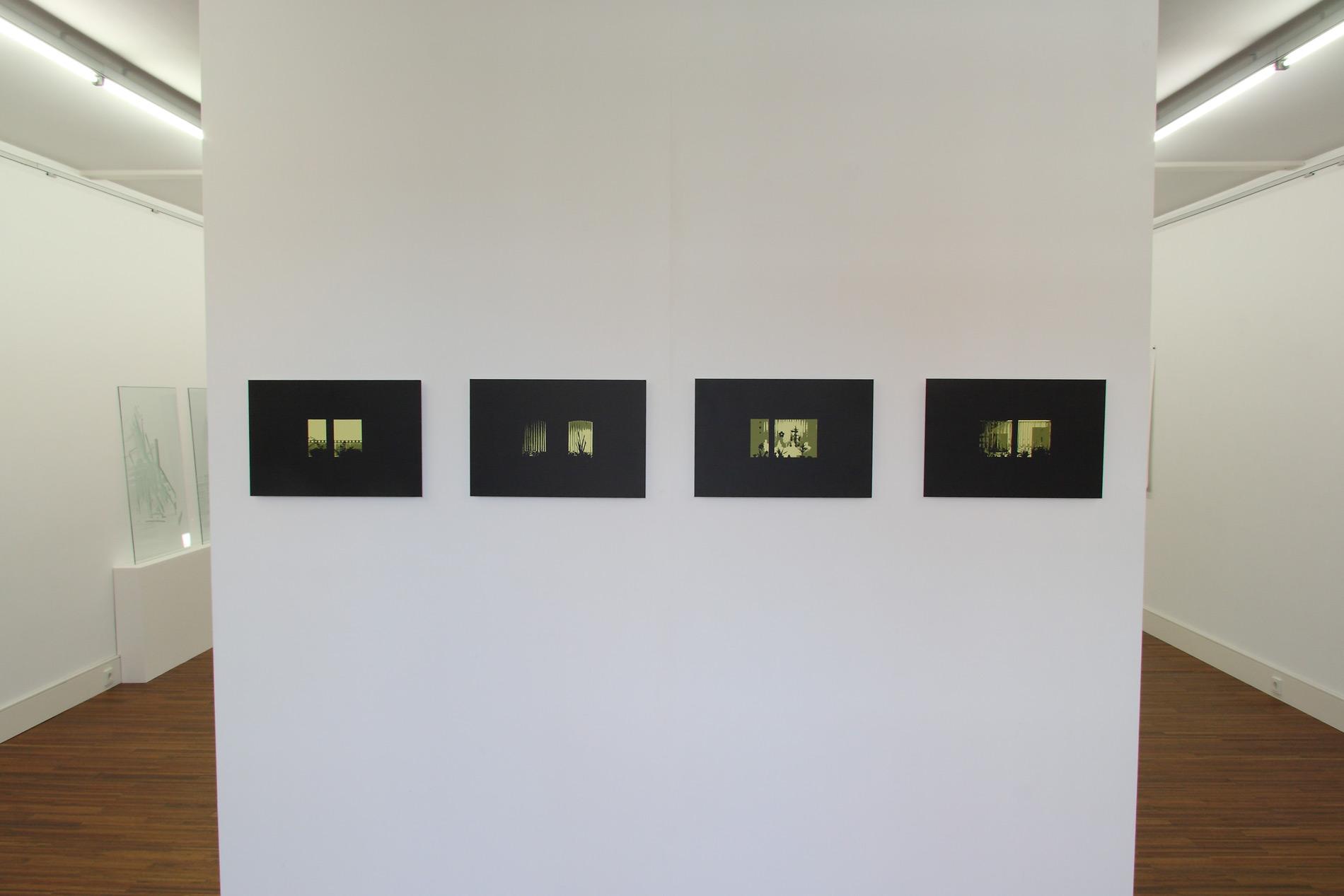 Michael Göbel - o. T. (Sonne I - IX), 2010