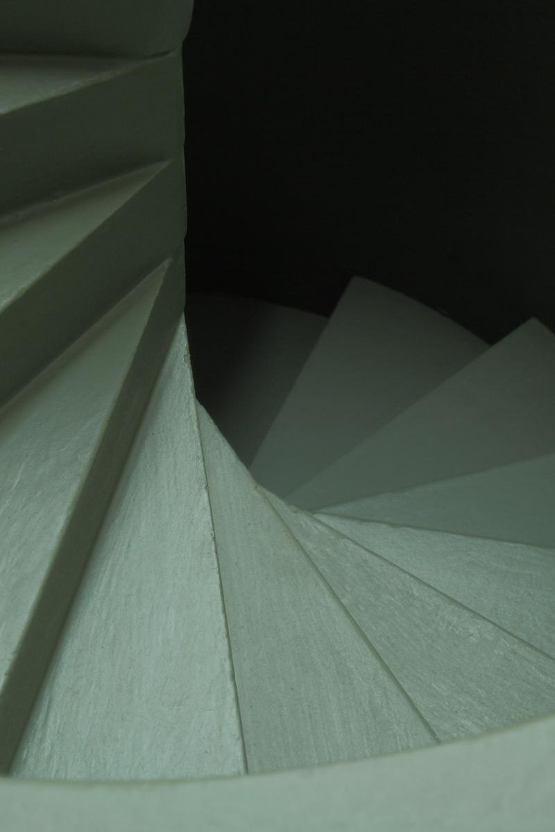 """Michael Göbel - Stufen I (aus der Serie der """"Gedankengebäude""""), 2016"""