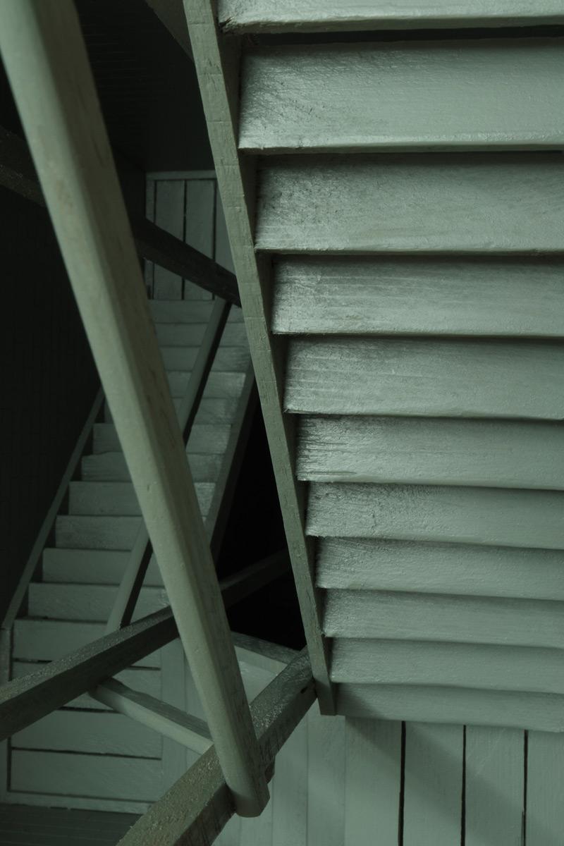 """Michael Göbel - Stufen III (aus der Serie der """"Gedankengebäude""""), 2016"""