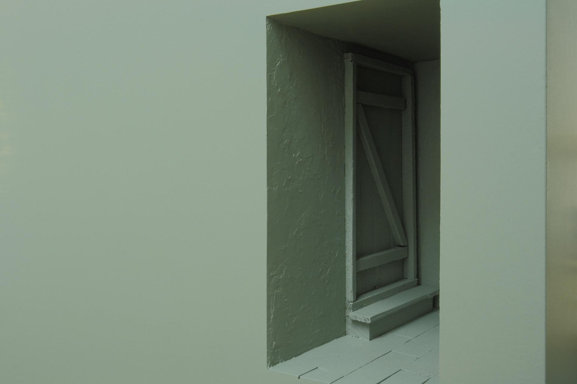 """Michael Göbel - Stufen IV (aus der Serie der """"Gedankengebäude""""), 2016"""