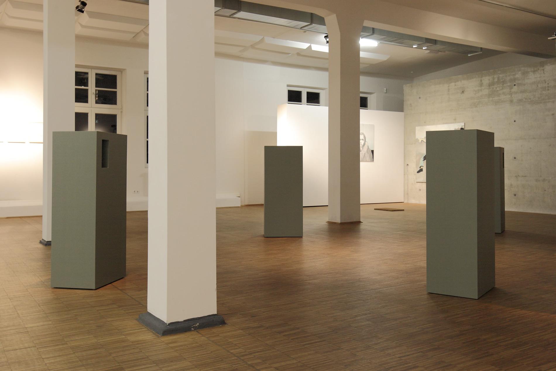 """Michael Göbel - Stufen (aus der Serie der """"Gedankengebäude""""), 2016"""