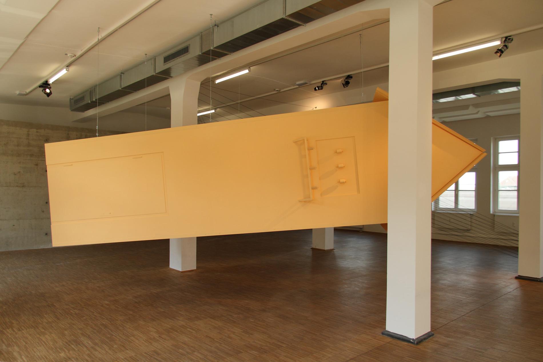 Michael Göbel - Transformatorenturm (aus der Serie der Gedankengebäude), 2013