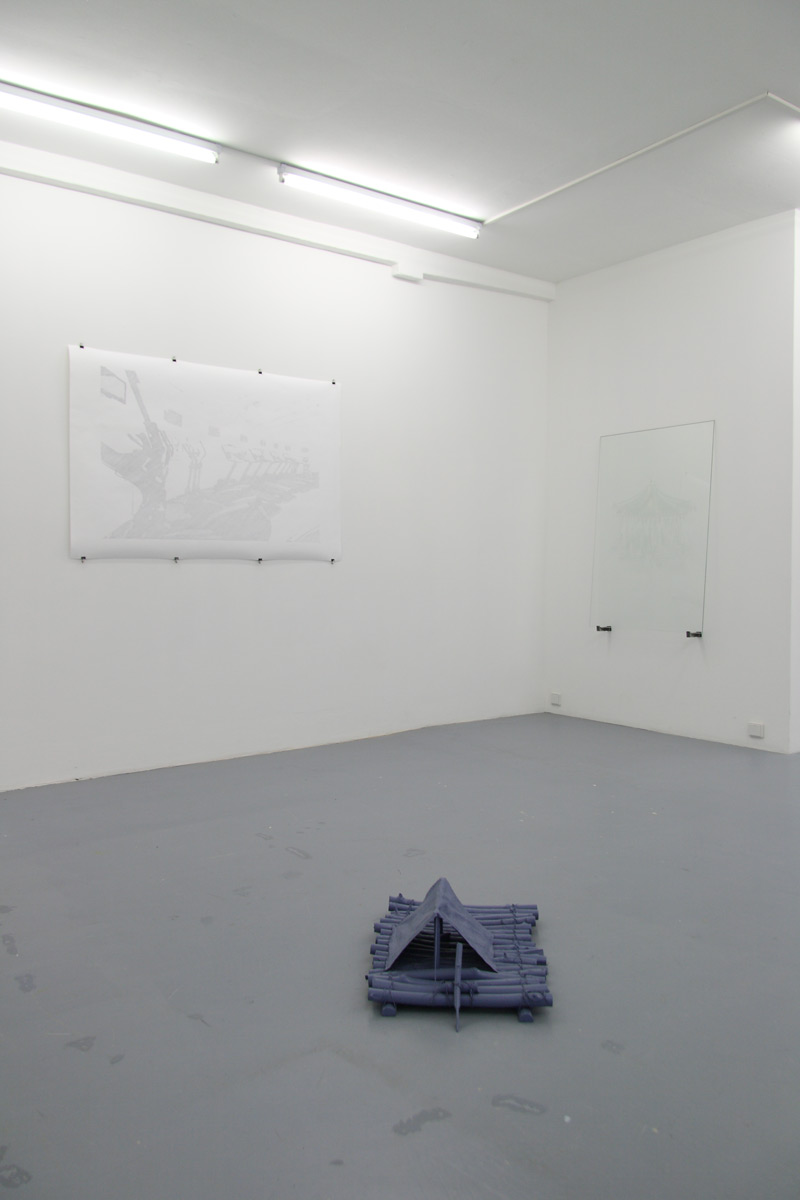"Michael Göbel - Ausstellung ""Circus Maximus"", 2011"