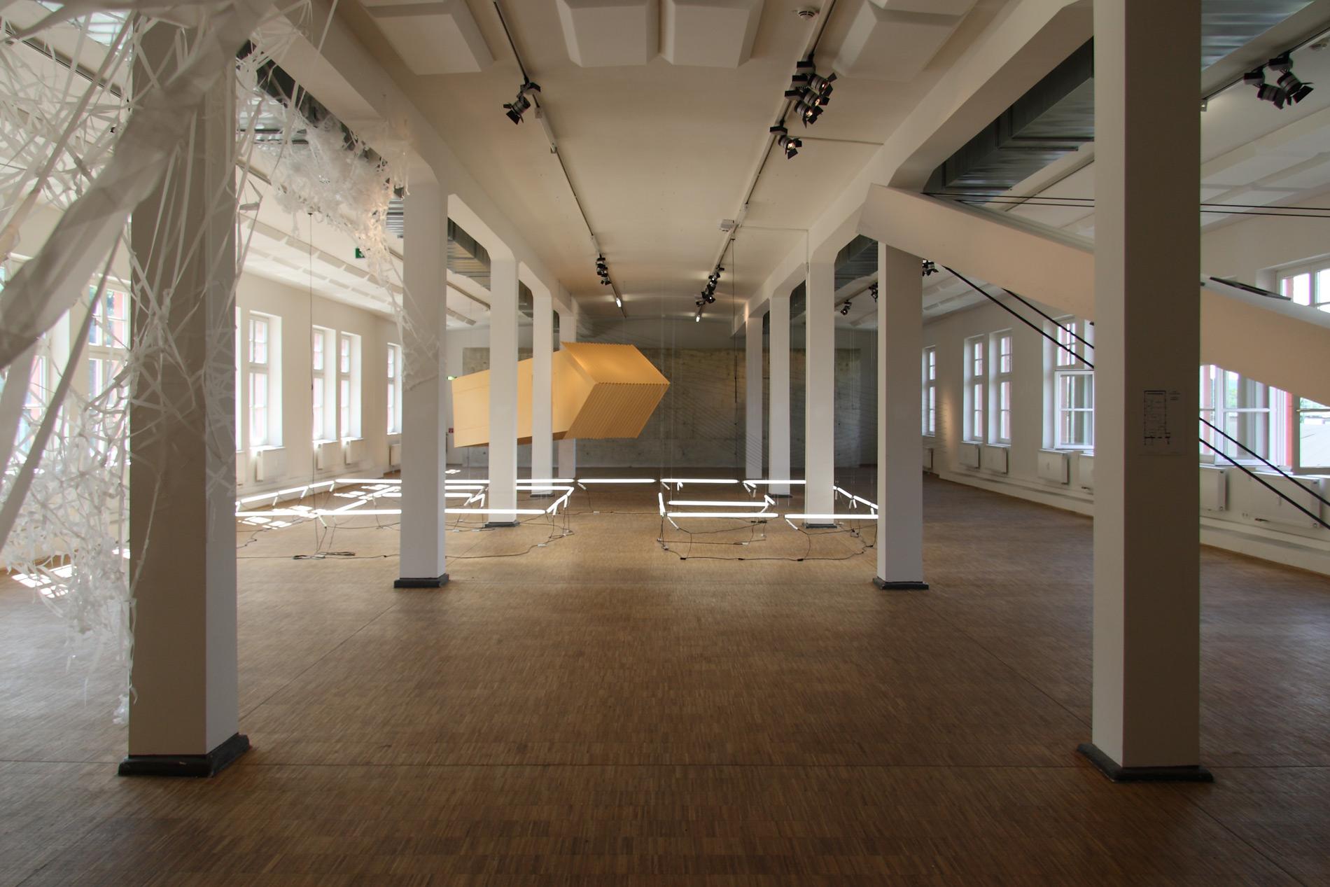 """Michael Göbel - Ausstellung """"Diagonal"""" - 387, Kassel, 2013"""