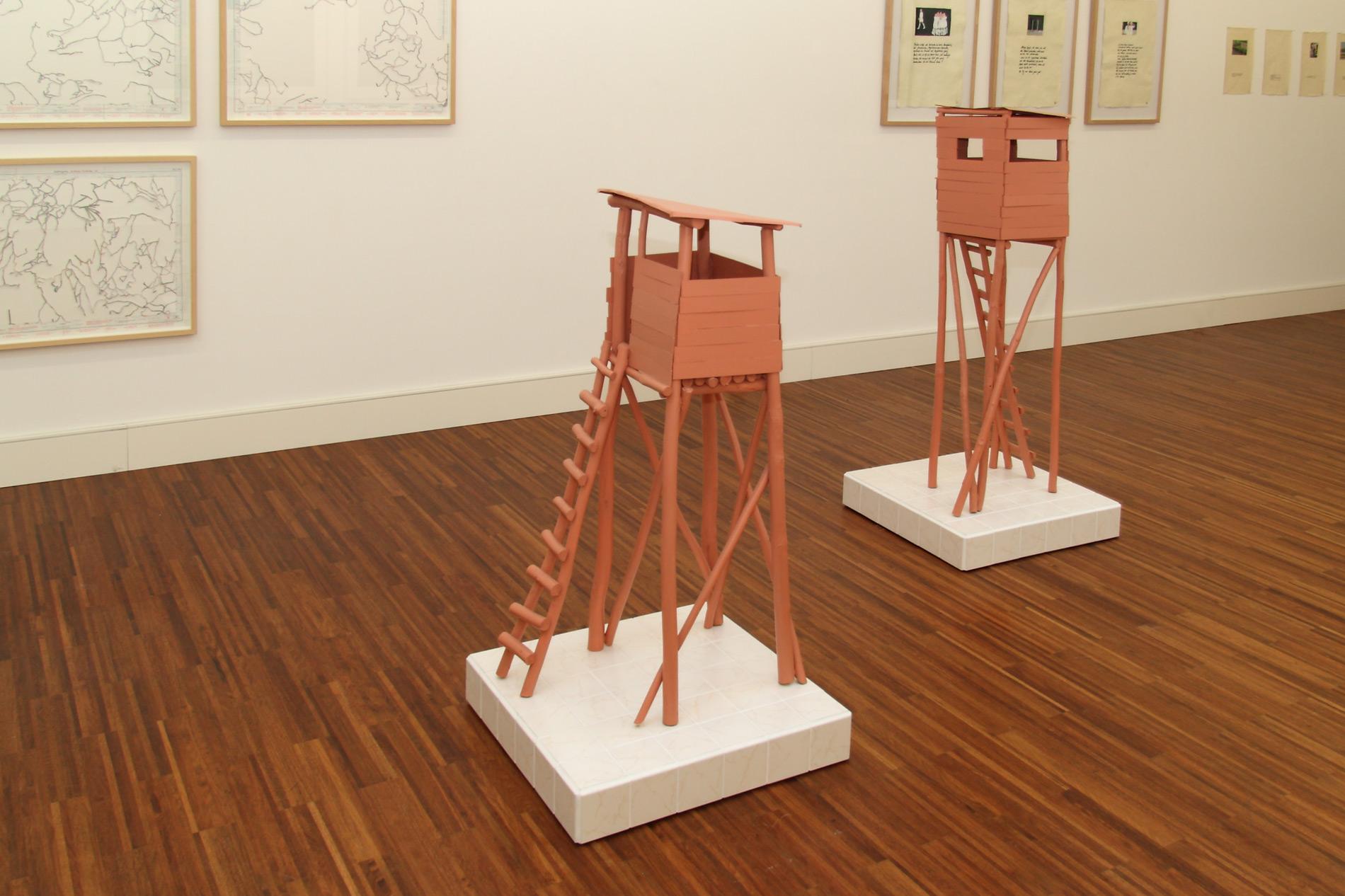 """Michael Göbel - Ausstellung """"Ich und die Wirklichkeit"""" - Kunsthalle Willingshausen, 2012"""