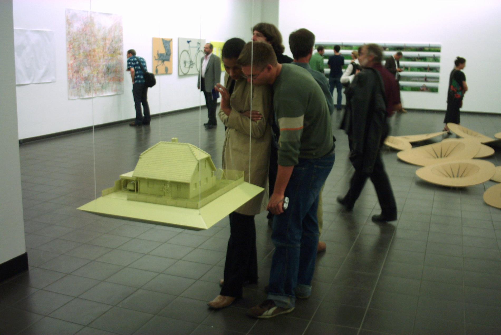 """Michael Göbel - Ausstellung """"Selbst im weitesten Sinne"""" - Marburger Kunstverein, 2003"""