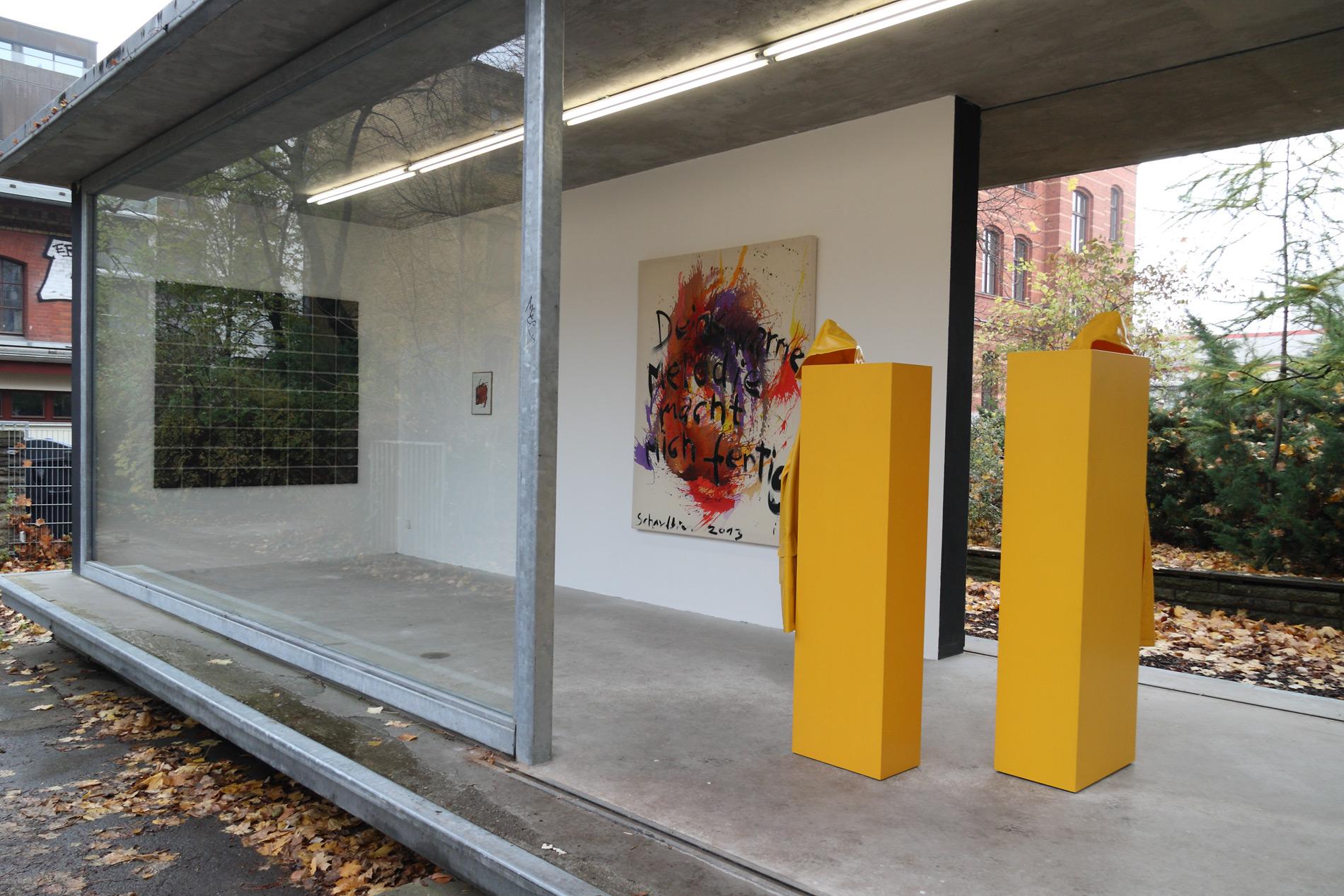 """Michael Göbel - Ausstellung """"Sic Semper Tyrannis"""" - Pavillon im Milchhof, Berlin, 2013"""