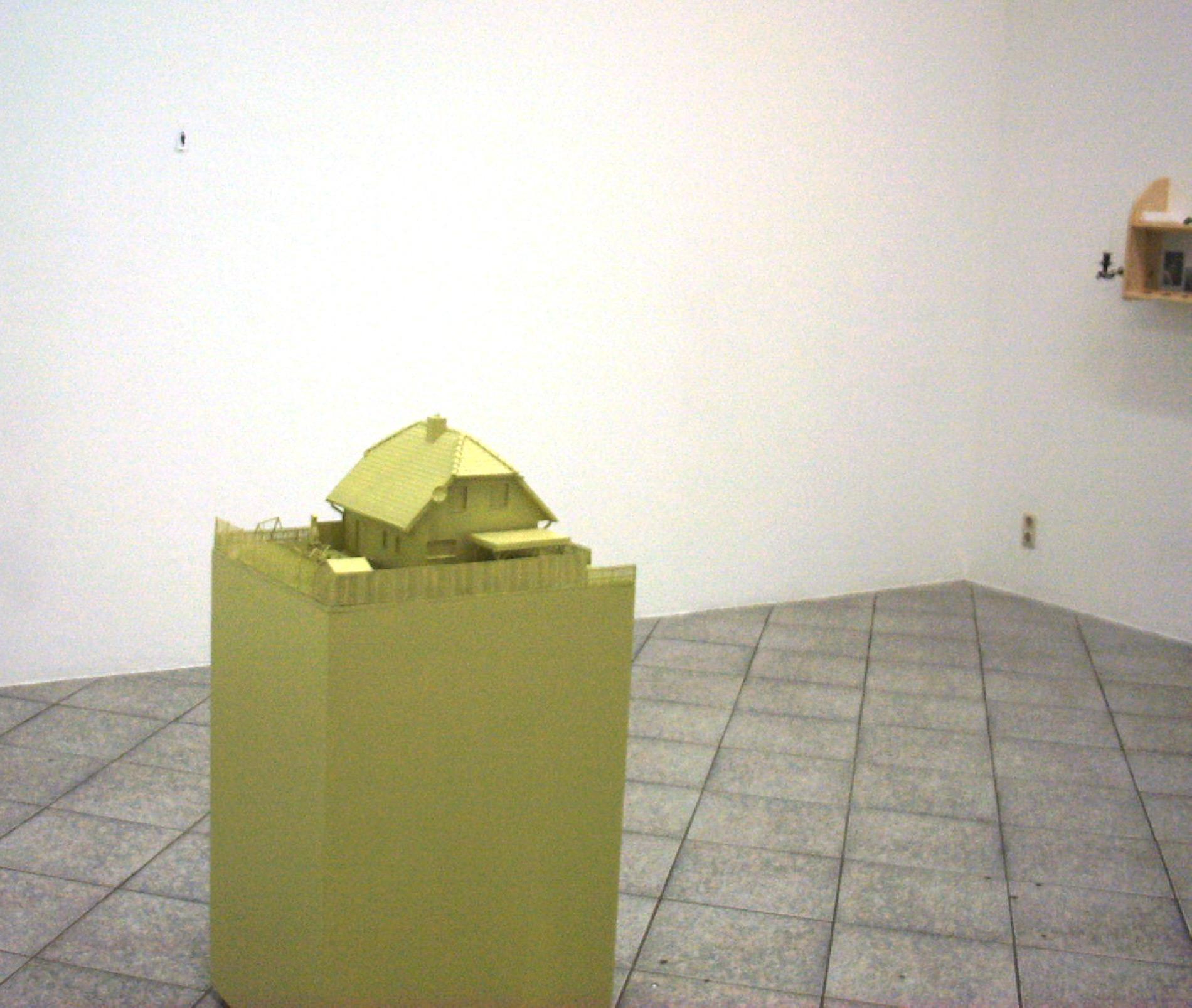 """Michael Göbel - Ausstellung """"Der Sommer der Liebe"""" - Stellwerk Kassel, 2002"""