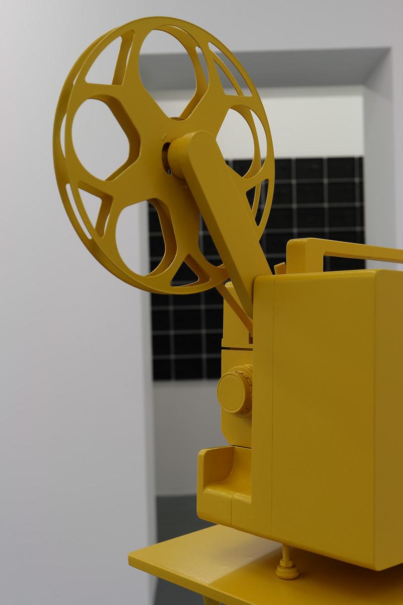 """Rauschen """"Archive files"""" (Projektor)"""
